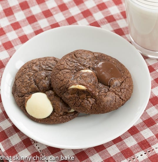 Brownie Drop Cookies | That Skinny Chick Can Bake