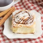 Cinnamon Rolls - Tender, buttery dough filled with brown sugar and cinnamon and drizzled with a simple glaze