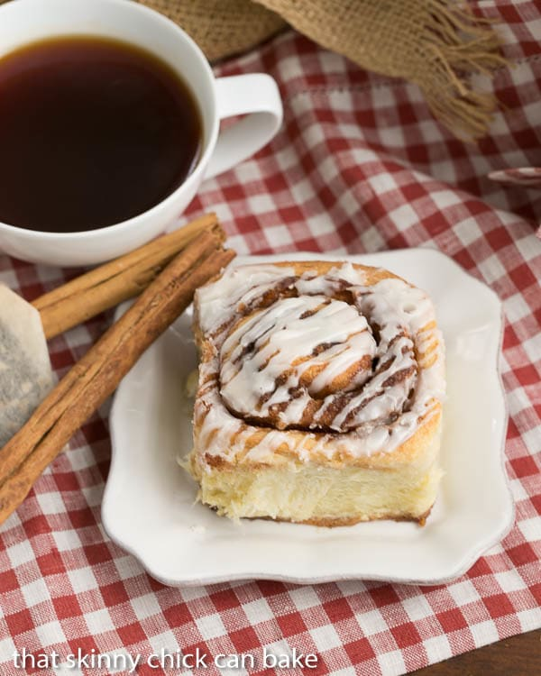 The Best Cinnamon Rolls - Tender, buttery dough filled with brown sugar and cinnamon and drizzled with a simple glaze