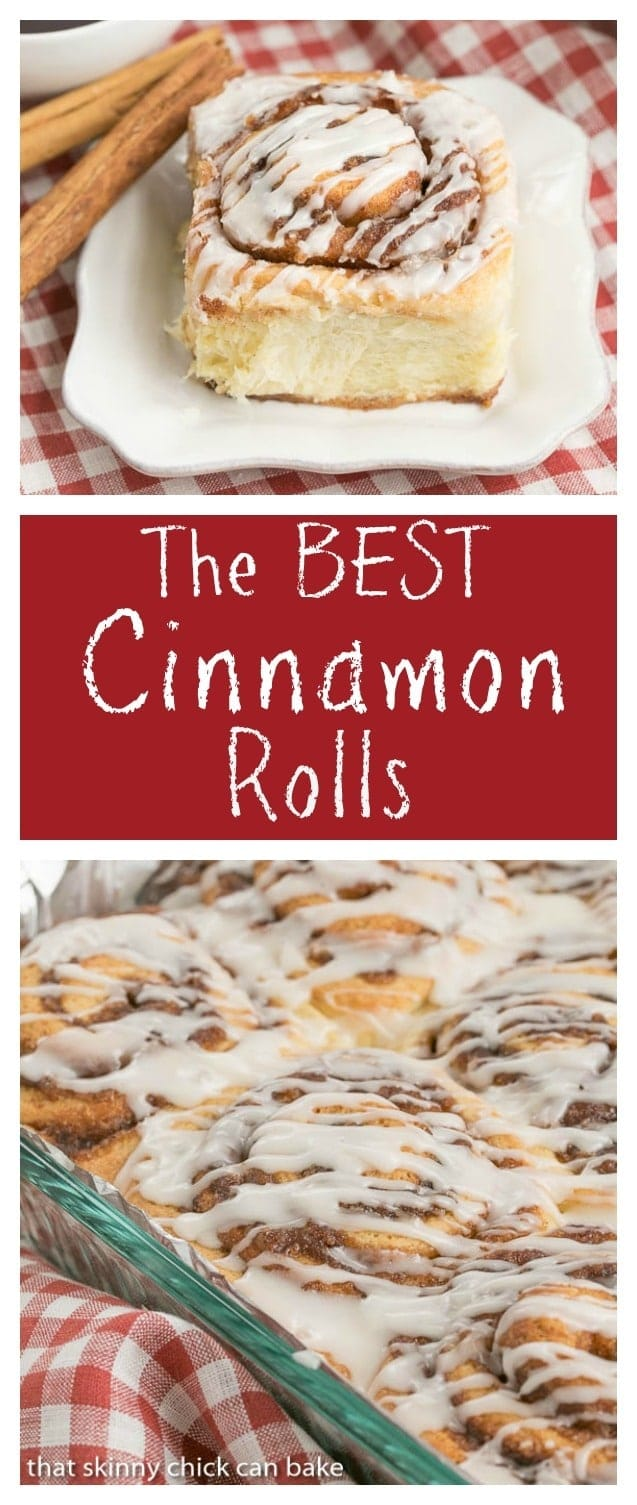 The Best Cinnamon Rolls That Skinny Chick Can Bake