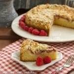 Raspberry Cream Cheese Coffeecake