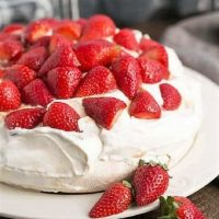 Strawberry Pavlova featured image