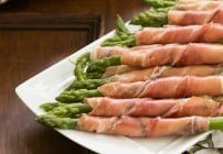 Prosciutto Wrapped Asparagus with Boursin #SundaySupper