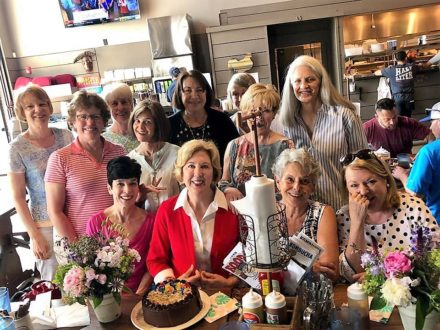 Pam's birthday gathering 2019