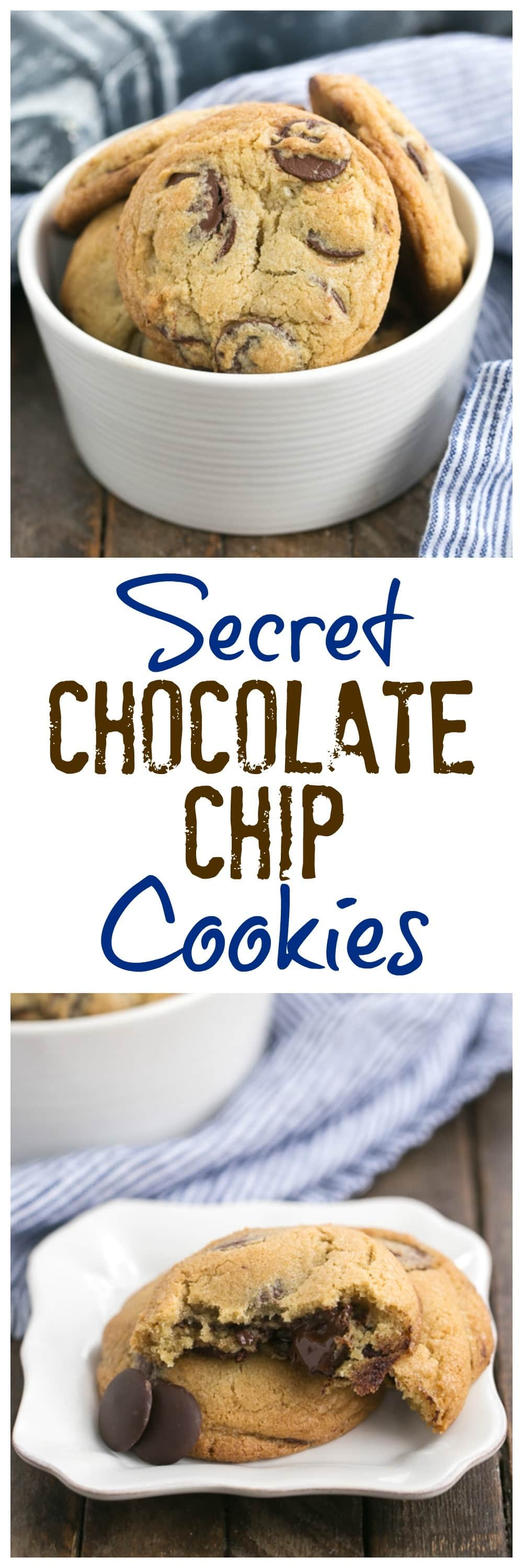 Jacques Torres' Secret Chocolate Chip Cookies collage
