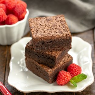 Rich Fudgy Cocoa Brownies - the ultimate brownie lover's brownie!
