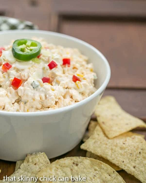 Sour Cream Corn Dip | A strange combo, but EVERYONE wants the recipe!