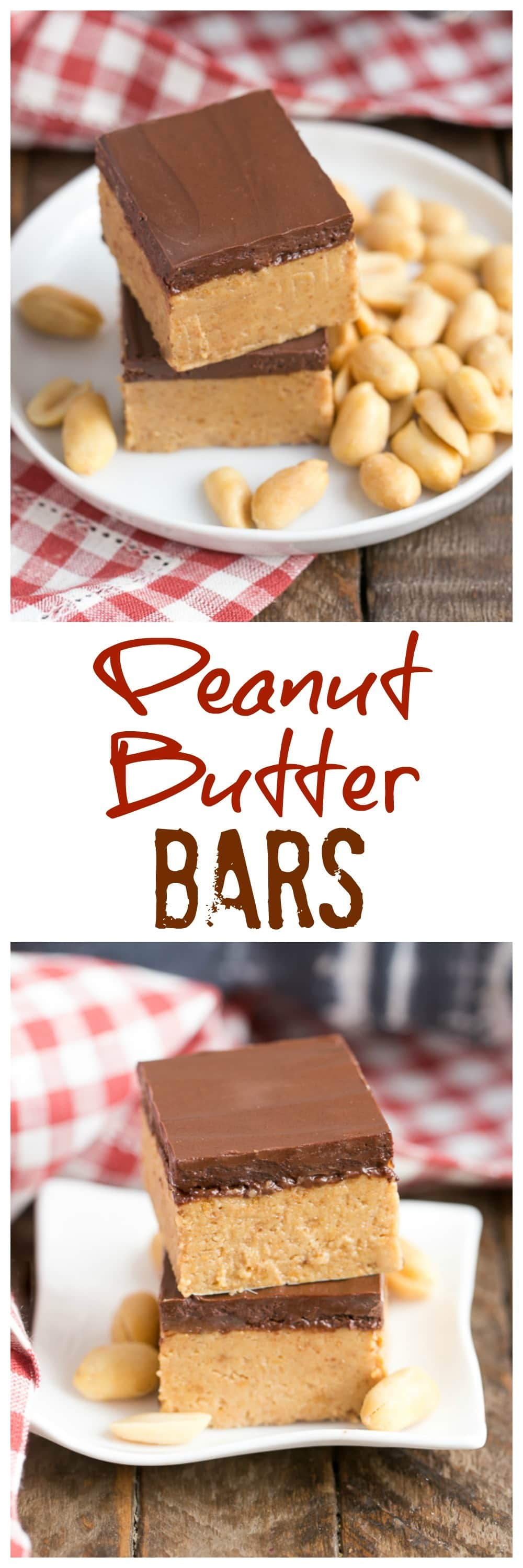 Better Than Reese S Peanut Butter Bars That Skinny Chick