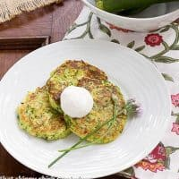 Zucchini Fritters   Tender and delectable appetizer!