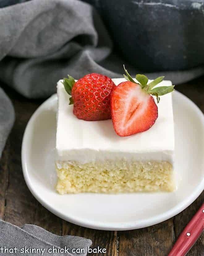 Authentic Tres Leches Cake