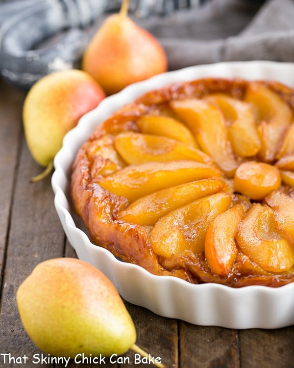 Pear Tarte Tatin - That Skinny Chick Can Bake
