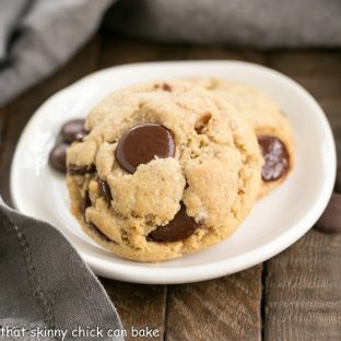 Chocolate Chip Cookies from Just Desserts | A massive amount of chocolate in each and every fabulous cookie!!!