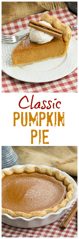 Classic Pumpkin PIe | Libby's recipe on steroids