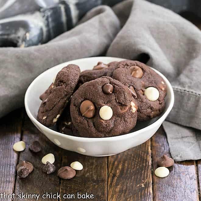 Quadruple Chocolate Cookies featured image