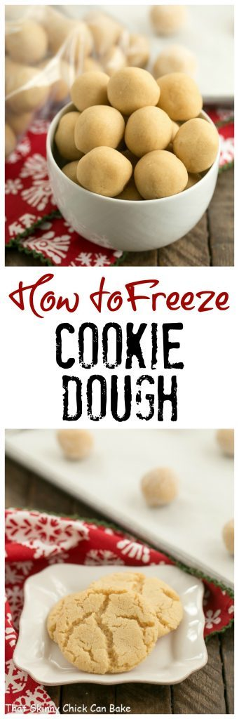 How To Freeze Cookie Dough That Skinny Chick Can Bake