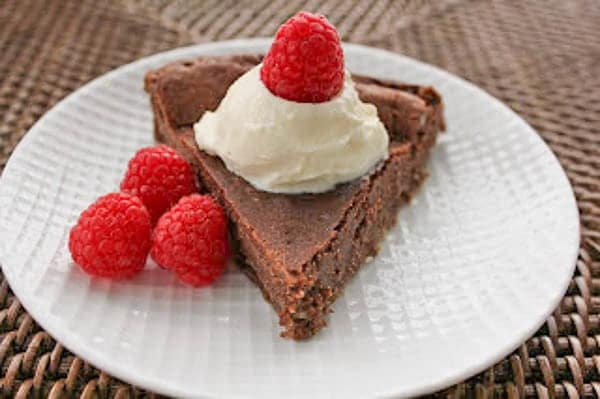 Double Chocolate Mousse Cake