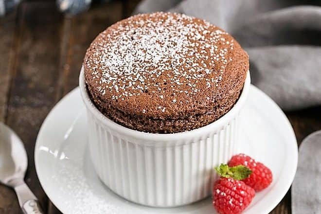 Individual Individual Chocolate Soufflés featured image