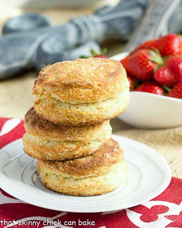 Flaky Buttermilk Biscuits - two tricks make for magificent flaky and tender buttermilk biscuits