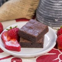 Cocoa Brownies with Browned Butter   Alice Medrich's delicious twist on fudgy brownies