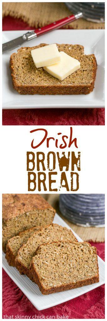 Irish Brown Bread | Make a fabulous loaf of Irish soda bread at home!!