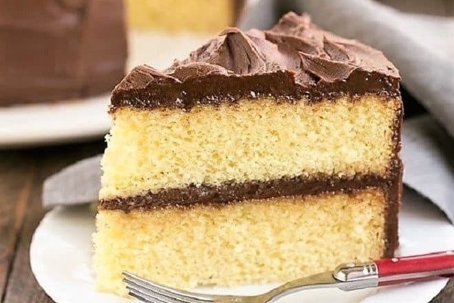 Best Yellow Cake Recipe featured image