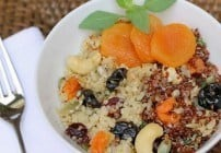 Quinoa, Fruit and Nut Salad