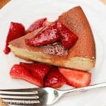 Chevre Tourteau with Balsamic Strawberries