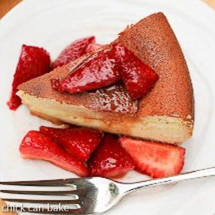 Chevre Cheesecake   a Dorie Greenspan recipe