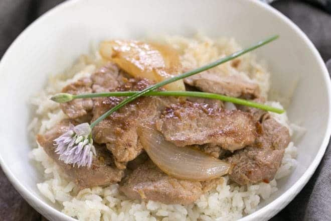 Pork Bulgoge - a marvelous Korean stir fry with a bit of a kick!
