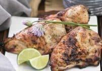 Grilled Thai Chicken #SundaySupper