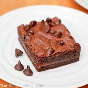 EASY Caramel Brownies