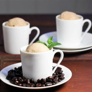Homemade Coffee Ice Cream featured image