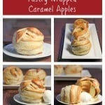 Pastry Wrapped Caramel Apples