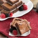 One bowl fudgy brownies