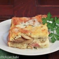 Monte Cristo Bread Pudding