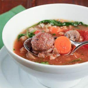 Rustic Farro Soup