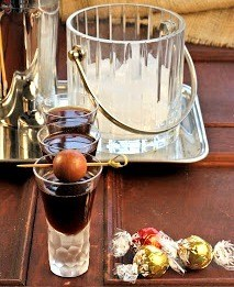 Frangelico Truffle Cocktail | A marvelous aperitif that tastes like candy!