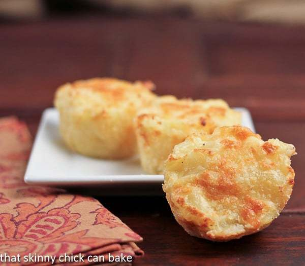 Cheesy Potato Cups   That Skinny Chick Can Bake