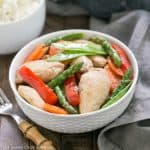 Chicken Stir Fry with Oyster Sauce