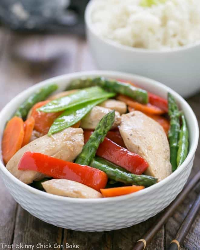 Chicken Stir Fry with Oyster Sauce | Better than Take Out!