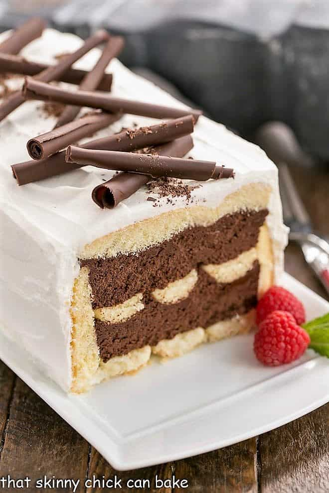 Chocolate Mousse Cake That Skinny Chick Can Bake
