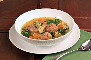 Italian Wedding Soup | Easy and perfect for a chilly autumn or winter meal!