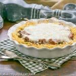 Spaghetti Pie with Sour Cream