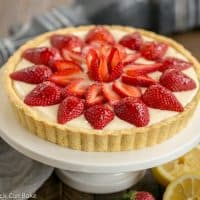 Strawberry Lemon Tart