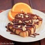 Nutella Tartine #FrenchFridayswithDorie