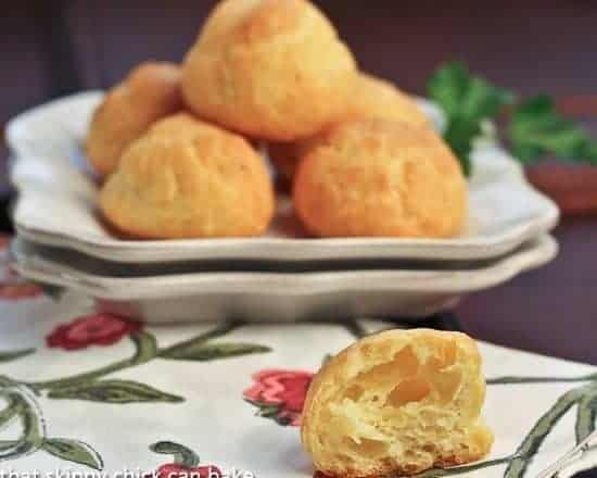Parisian Cheese Puffs