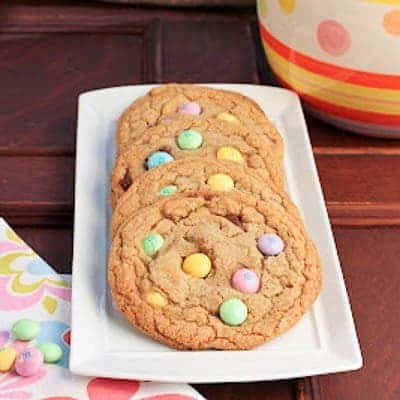 Brown Butter Easter Cookies | Marvelous cookies to celebrate Easter or use up that extra candy!