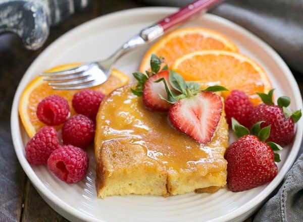 Make Ahead Creme Brulee French Toast That Skinny Chick Can Bake