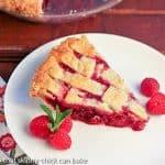 Raspberry Pie #Berrylove #SundaySupper