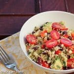 Quinoa and Black Bean Salad